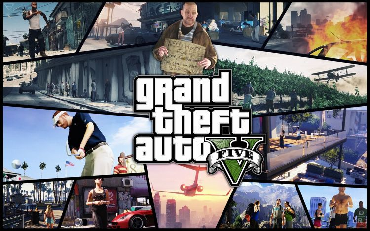 Wallpapers Video Games GTA 5 Wallpaper N°384010