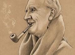 Art - Crayon Tolkien