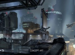 Video Games Halo 5 Concept Art