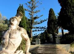 Voyages : Europe Achilleion (Palais de Sissi l'impératrice) - Corfou