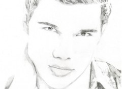 Art - Pencil Taylor Lautner