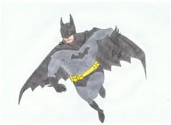 Art - Crayon Batman