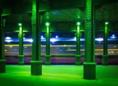 Various transports Tramway de nuit