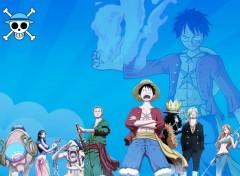 Manga One Piece Blue