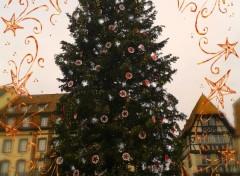 Objets Noel à Strasbourg