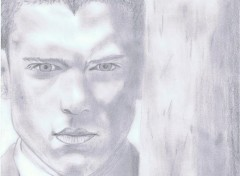 Art - Pencil Wentworth Miller