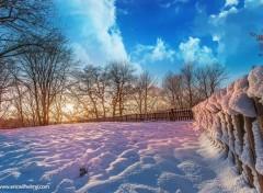 Nature Nature enneigée