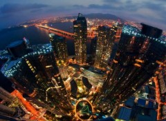 Trips : Asia MARINE CITY IN THE HAEUNDAE DISTRICT OF BUSAN, SOUTH KOREA