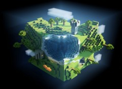 Video Games Minecraft World