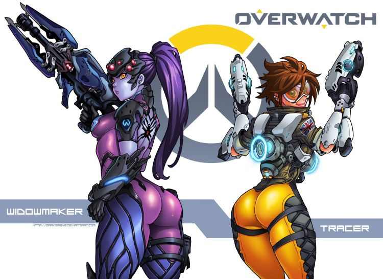 Fonds D Ecran Jeux Video Fonds D Ecran Overwatch Tracer