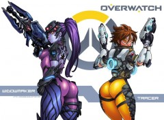 Video Games Tracer and Widowmaker