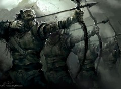 Fantasy and Science Fiction archers orc