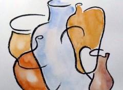 Art - Peinture Poteries