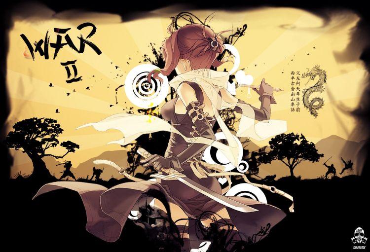 Wallpapers Manga Miscellaneous - Girls War 2