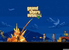 Video Games Gta 5 Pixel