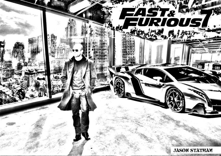 Fonds D écran Cinéma Fonds D écran Fast And Furious 7 Fast And