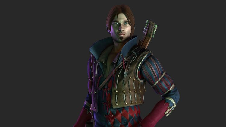 Fonds d'écran Jeux Vidéo The Witcher 3 The Witcher 2 - Jaskier (Dandelion)