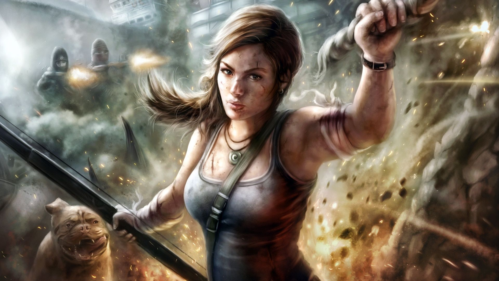 Wallpapers Video Games Tomb Raider