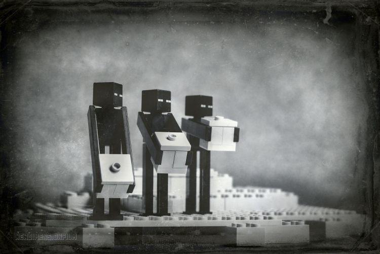 Fonds d'écran Objets Jouets Minecraft-Lego