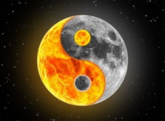 Digital Art Yin-Yang