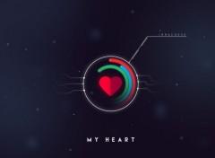 Digital Art my heart