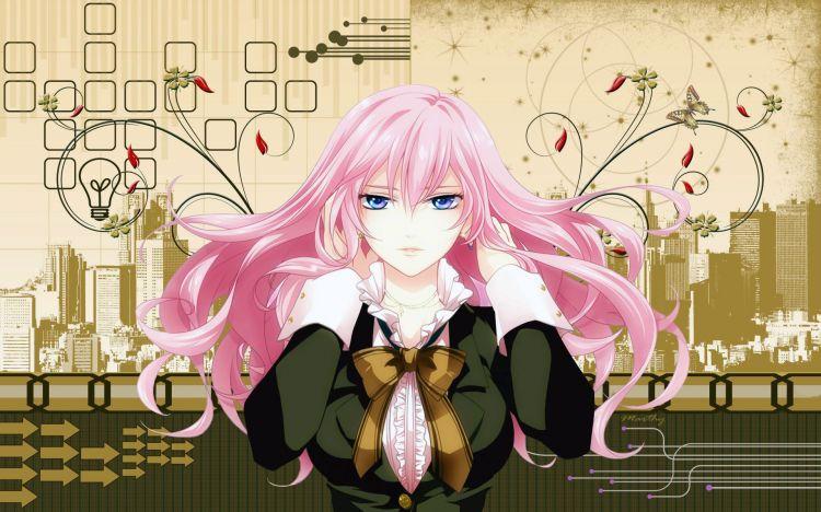 Wallpapers Manga Miscellaneous - Girls Megurine Luka
