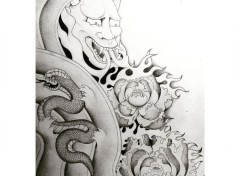 Art - Pencil Japanese Style