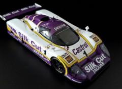 Cars Jaguar XJR 9LM 24 Heures du Mans 1988