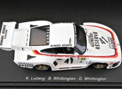 Voitures Porsche 935 K3 victorieuse 24 Heures du Mans 1979