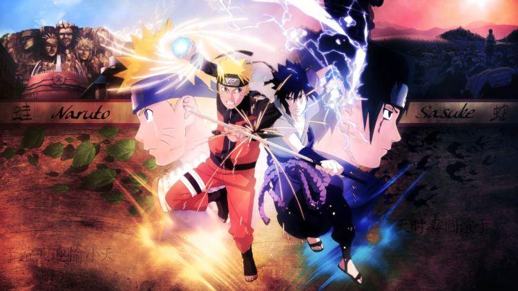 Fonds d'écran Manga Naruto Naruto vs sasuke