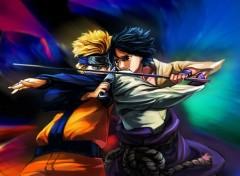 Manga Naruto-Sasuke