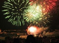 People - Events Feu d'artifice à La Prairie de Caen juillet 2014