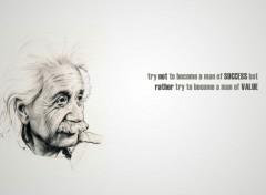Célébrités Homme Albert Einstein Quote