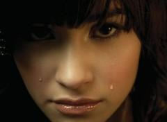 Celebrities Women Demi Lovato Crying
