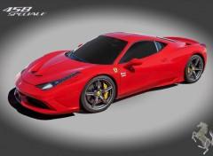 Voitures Ferrari 458 Spéciale