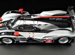 Voitures Audi R18 TDI victorieuse 24 Heures du Mans 2011