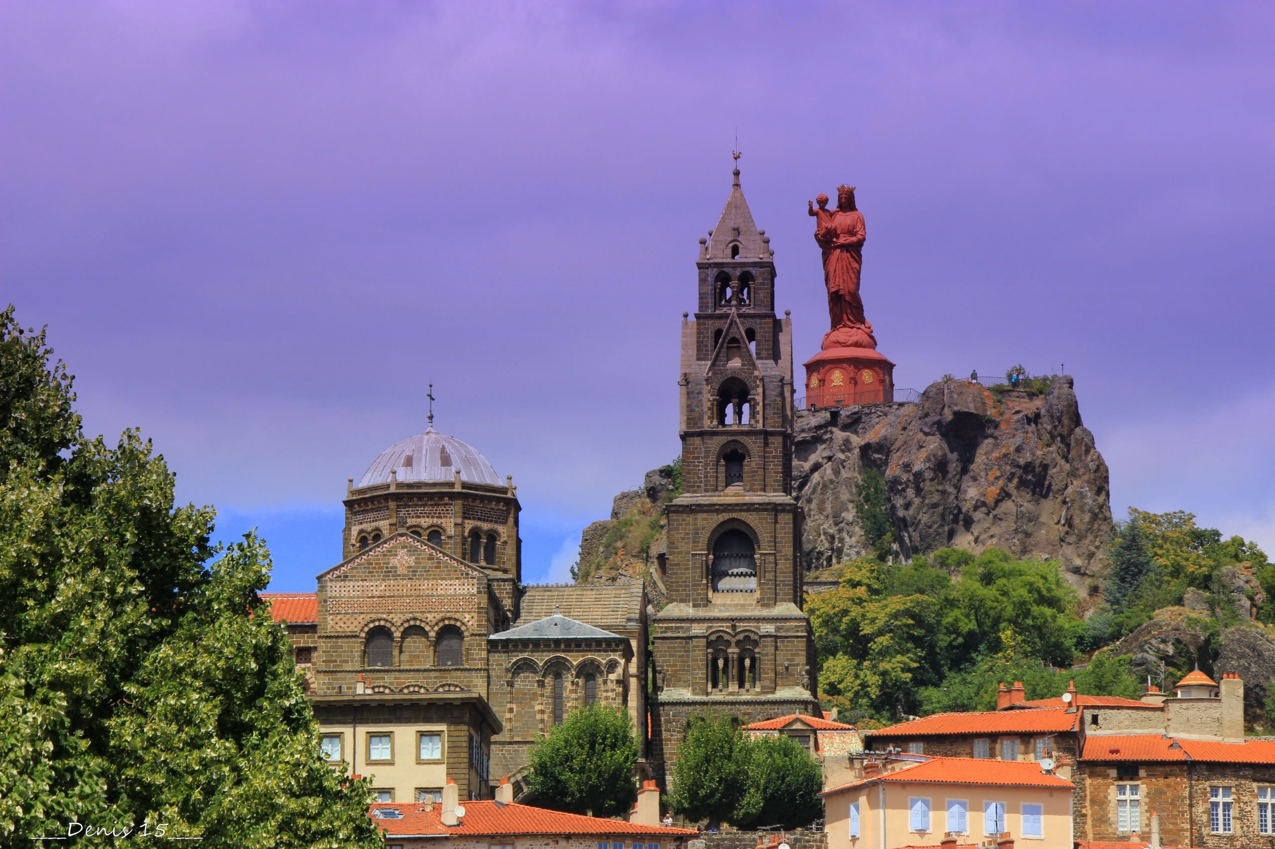 Wallpapers Constructions and architecture Religious Buildings LE PUY EN VELAY-AUVERGNE