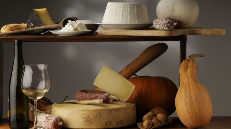 Fonds d'écran Objets Fromages Wallpaper N°414231