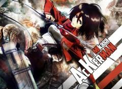 Manga Mikasa Ackerman