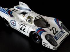 Cars Porsche 917 K gagnante des 24 Heures du Mans 1971