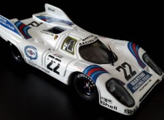 Voitures Porsche 917 K gagnante des 24 Heures du Mans 1971