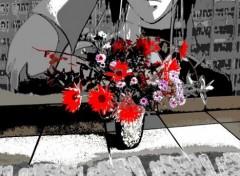 Art - Numérique bouquet de fleurs