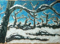 Art - Painting L'hiver