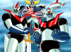 Manga Ufo Robot Grendizer (Goldorak),Great Mazinger et Mazinger Z