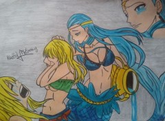Art - Pencil lucy&aquarius