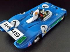 Voitures MATRA MS 670 B victorieuse 24 Heures du Mans 1974