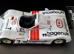 Voitures TWR-PORSCHE victorieuse des 24 Heures du Mans 1997