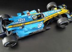 Voitures RENAULT R26 Fernando Alonso champion du Monde F1 2006