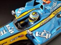 Cars RENAULT R26 Fernando Alonso champion du Monde F1 2006