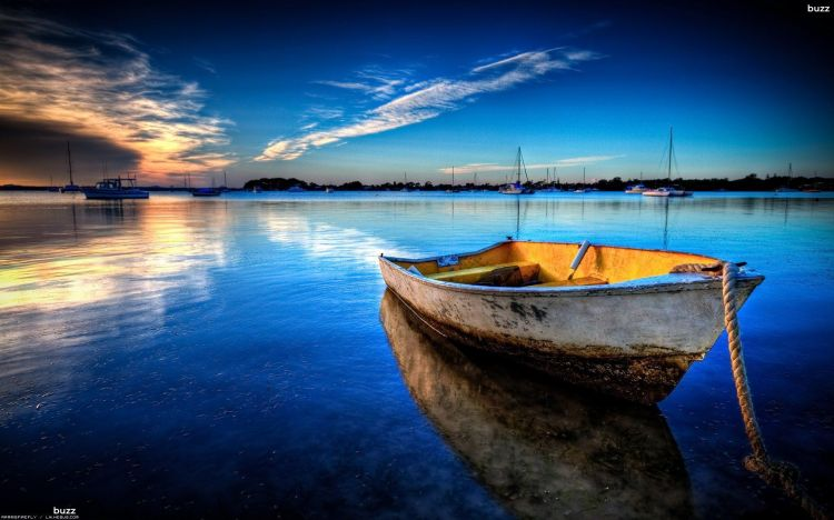 Wallpapers Nature Sunsets and sunrises Sea Sunset